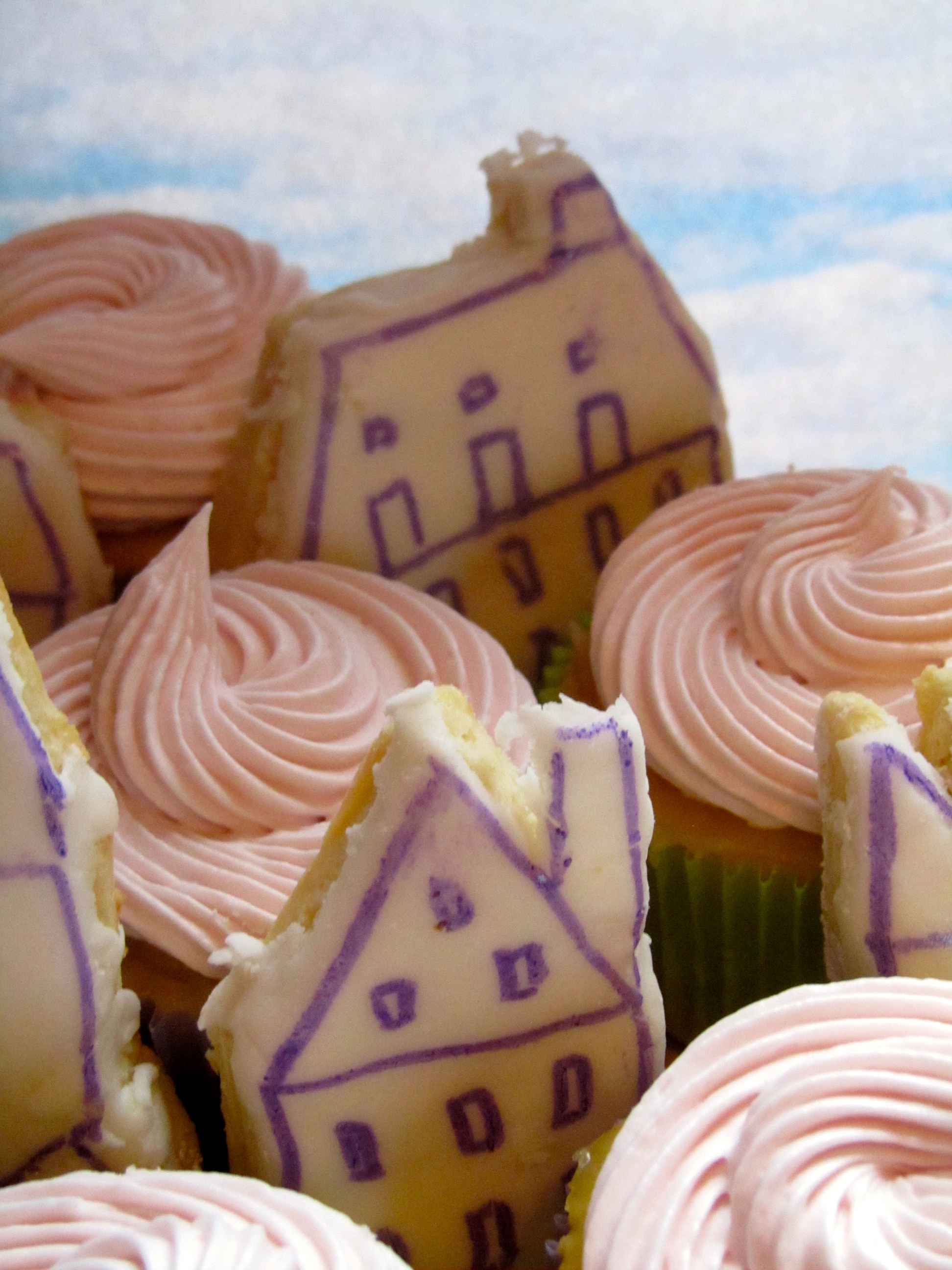 Lavender Lemon Cupcakes and Cookies Inspired by All the Light We